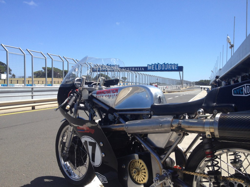 KC Minnovation Seeley Phillip Island 2014