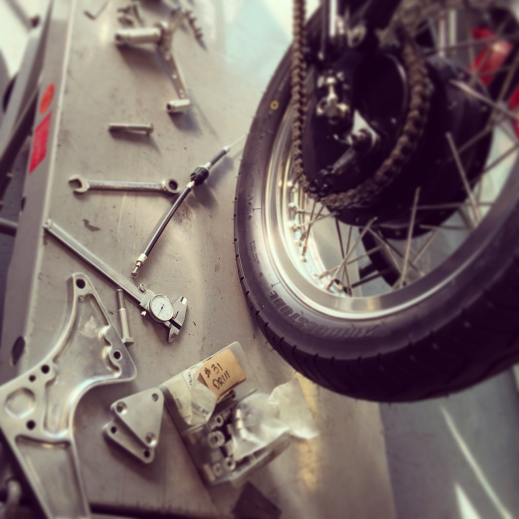 Rearset plate fab