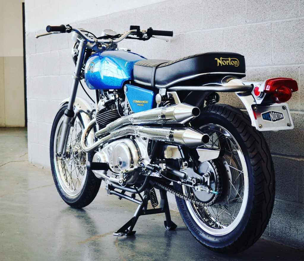 NYC Norton Commando S-Type