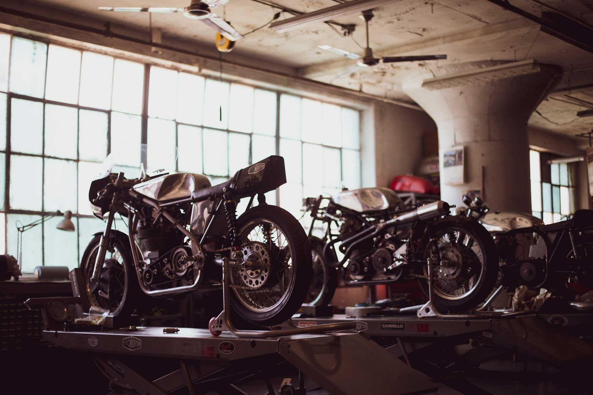 NYC Norton – Classic Norton Motorcycles, built to order